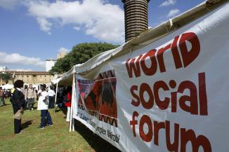 FORO SOCIAL MUNDIAL  POR PRIMERA VEZ EN ÁFRICA