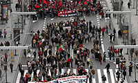 """MANIFESTACIÓN ANTIOTAN EN ZARAGOZA: SEGÚN """"LA DEMAJAGUA"""", """"DIARIO DIGITAL DE GRANMA"""", LA HABANA, HUBO 15.000 MANIFESTANTES EN LASCALLE. ¡ASÍ NO, COMPAÑEROS! ¡NO HAY QUE ENGAÑAR NI ENGAÑARSE !"""