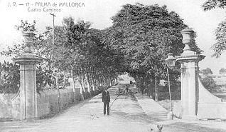 LA PALMA (MALLORCA): RECUPERAN EL PASEO QUATRE CAMPANES