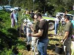 Los miembros y familiares del Club Rotary han contado con la colaboración de la Consejería de Medio Ambiente y Obimasa